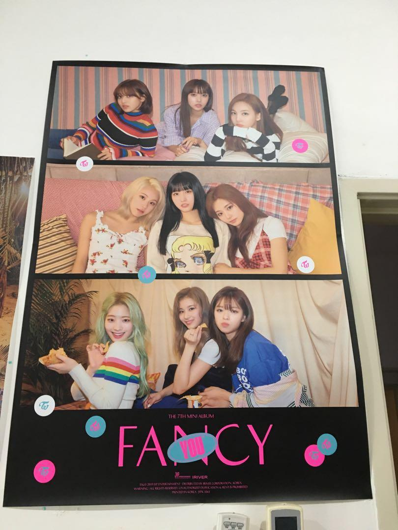 WTS Twice Twicecoaster Lane 1,Fancy poster