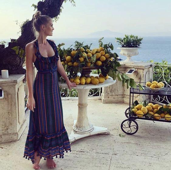Zimmermann Allia Striped Picnic Dress RRP $600 (Selling $299) Size 0 (Fits AU 6-8)