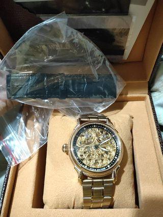 Round well  Rw2968正品機械錶 只售不換 自出價
