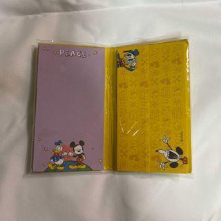 迪士尼書本式便條本