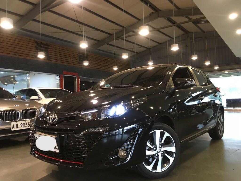 018 Toyota Yaris 1.5 S 最高等級! 原廠保固·認證車 進化小鴨··配備升級·底盤強化