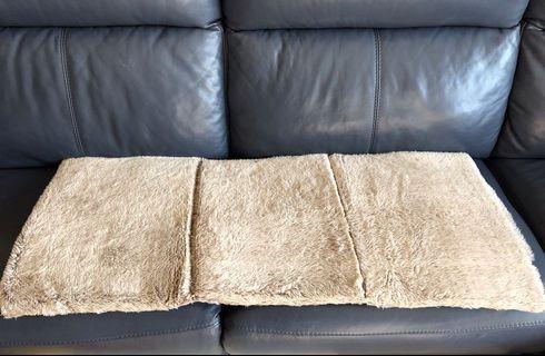 沙發座墊 溫暖短毛
