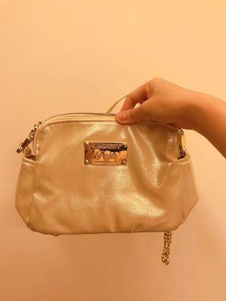 泰國品牌 金色小包