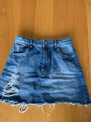 A brand skirt