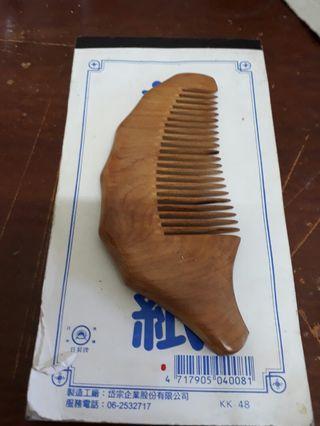櫹楠木髮梳