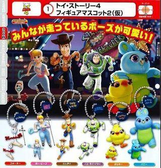 玩具總動員4 Toy Story 4 最新扭蛋 寶貝 牧羊女 跑步 吊飾