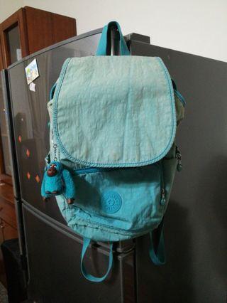 Kipling大猩猩綠色後背包包