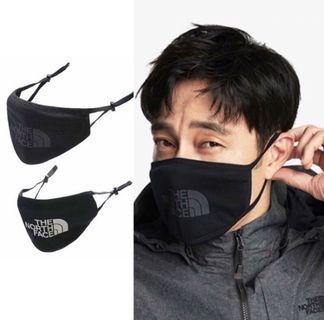 防風禦寒 現貨、韓國代購 The North Face 北面 蘇志燮代言 可調整口罩 棉質環保口罩 北面口罩 保暖 帥氣口罩