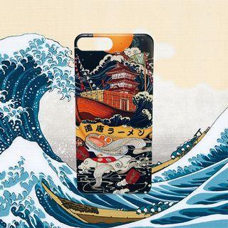 日式手機殼|浮雕|浮世繪|iPhone 7.8 plus|復古感