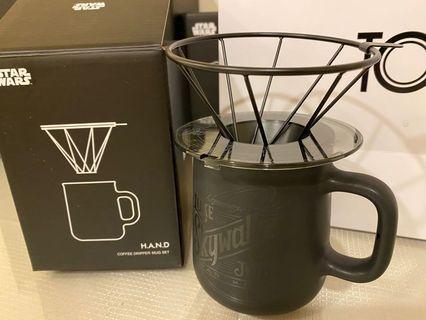 星際大戰咖啡濾杯+馬克杯組