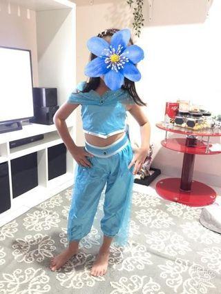 Kostum princess jasmine aladdin