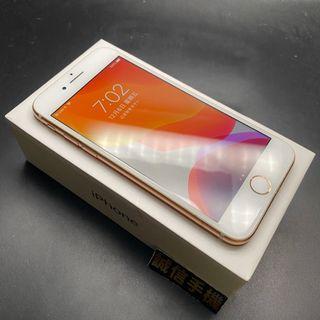 iPhone 8 256g 奶茶金 電池92% 全機包膜 原廠盒附充電組 保固至2020/1/17 #6670