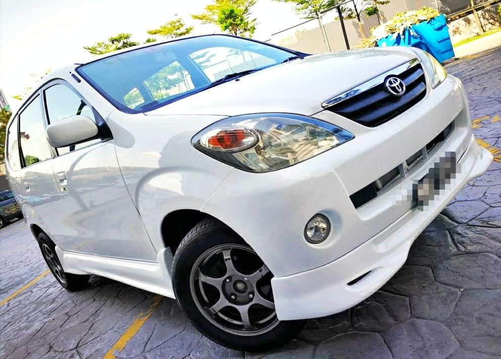 2005 Toyota AVANZA 1.3 (A) muka 2990 LOAN KEDAI KERETA