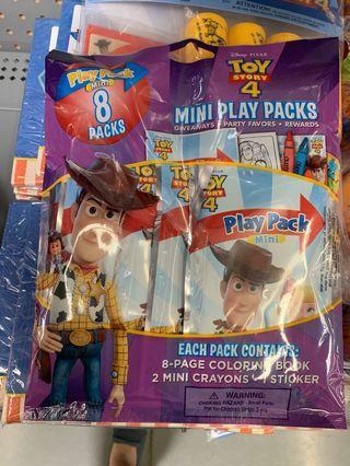 美國現貨玩具總動員塗色包