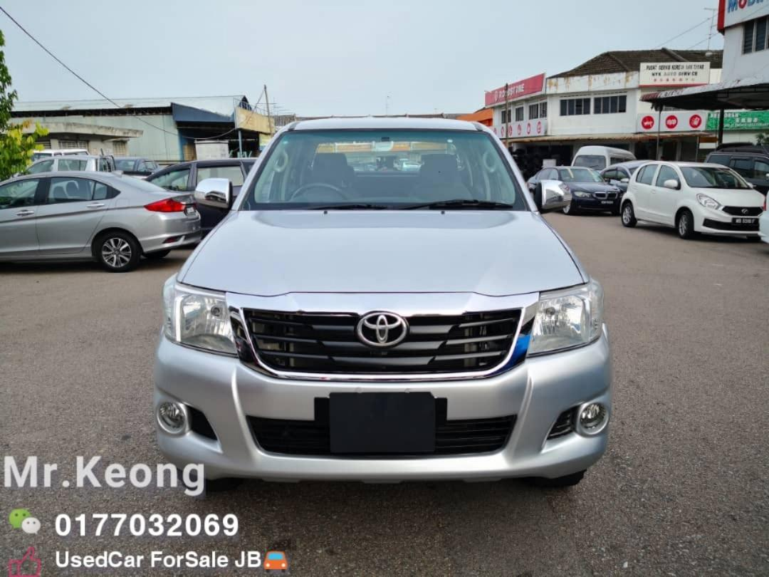 2012TH🚘TOYOTA HILUX 2.5MT G SPEC VNT FACELIFT 4X4 Cash💰OfferPrice💲Rm50,800 Only‼LowestPrice InJB‼Call📲KeongForMore🤗