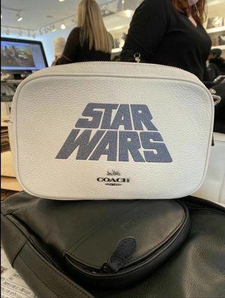🌞新款 COACH STAR WARS 相機包 肩背包 斜背包 側背包