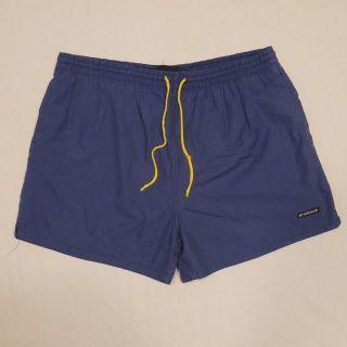 🌴90s McGREGOR 藍色美式運動休閒膝上短褲 Outdoor 男女皆可Vintage 歐美帶回古著老品