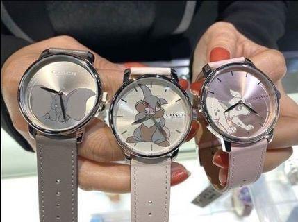 💥COACH 迪士尼聯名手錶 手錶