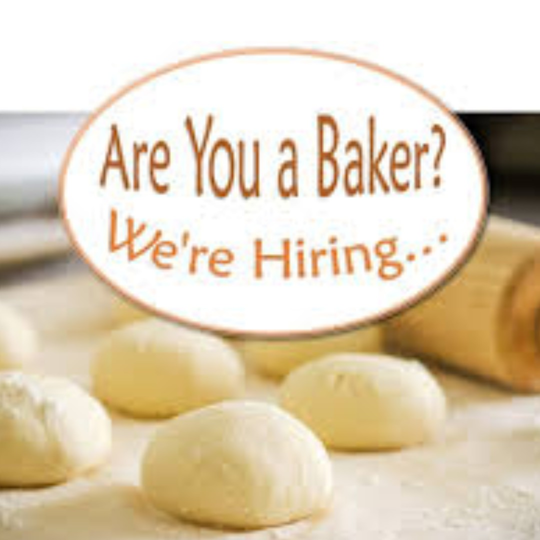 Experienced Baker wanted!