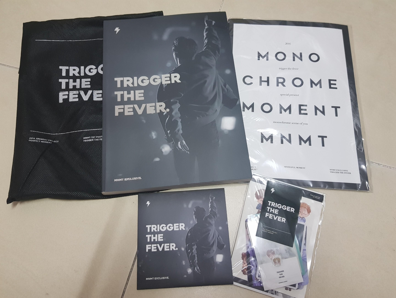 BTS UNOFFICIAL JIMIN TRIGGER THE FEVER PHOTOBOOK+DVD SET