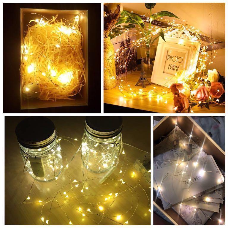 DIY LED燈泡仔燈串 聖誕/禮物裝飾❗️💡