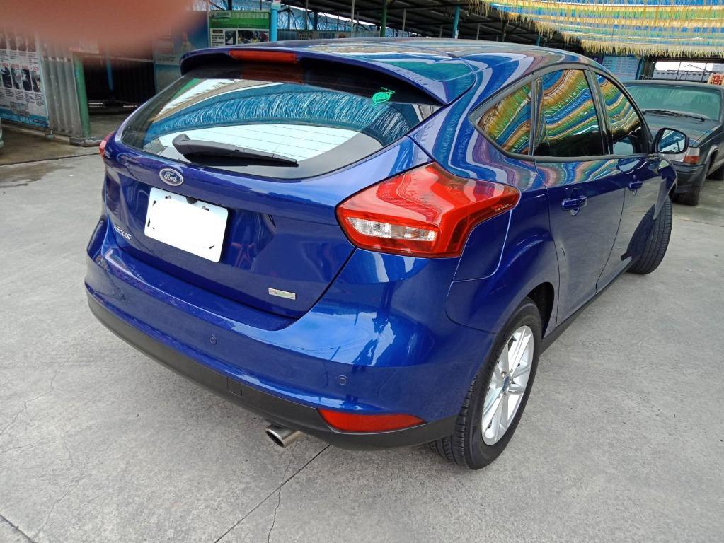 【FB搜尋桃園阿承】福特 超人氣FOCUS跑2.5萬 2017年 1.5 藍色 二手車 中古車