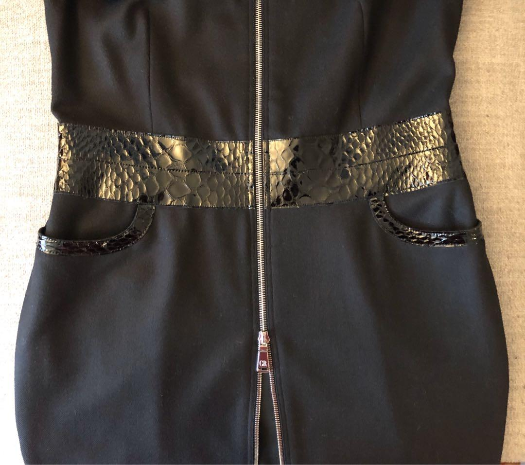 George's Rech Women's Black Wool Dress New With Tag Size 8