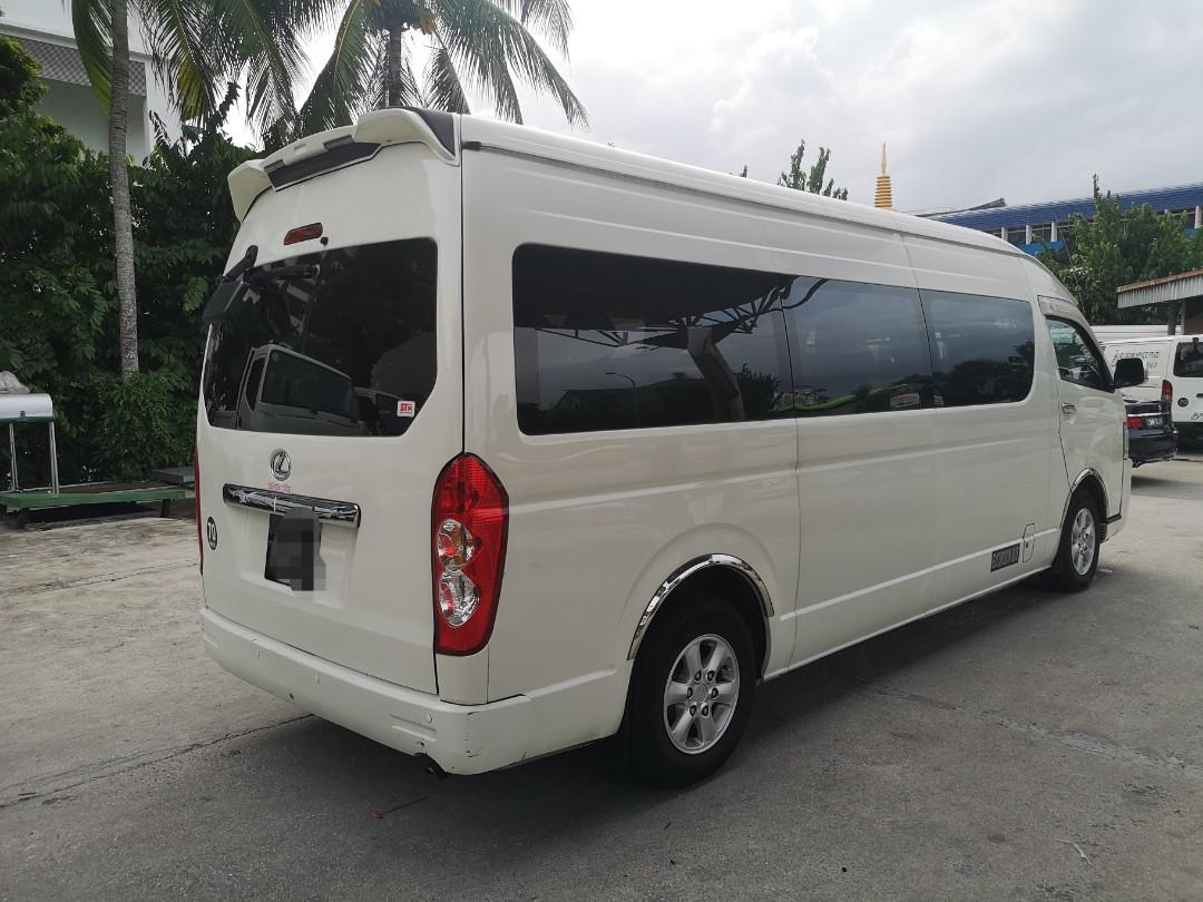 Joylong mini bus