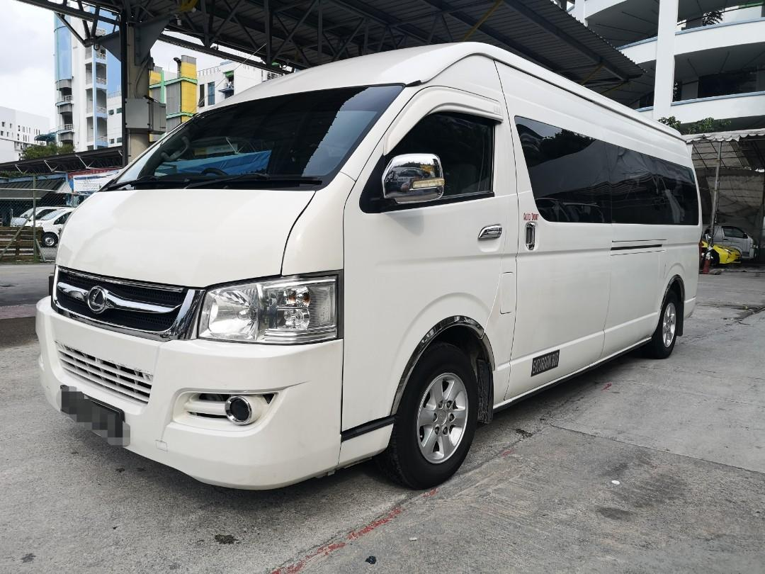 Joylong 15+1 seater Manual mini bus