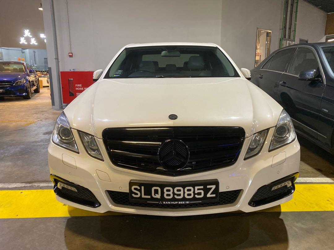 Mercedes-Benz E250 Avantegarde Sunroof CGI Auto