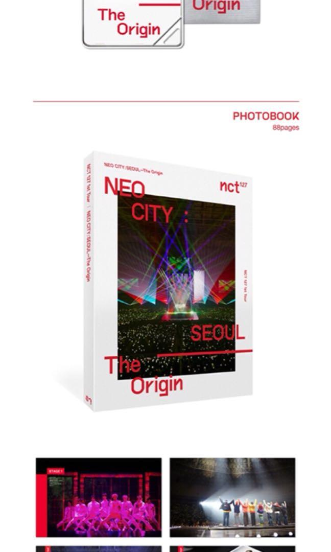 🌺NCT 127🌺 NCT 127 1ST TOUR [NEO CITY : SEOUL - THE ORIGIN]