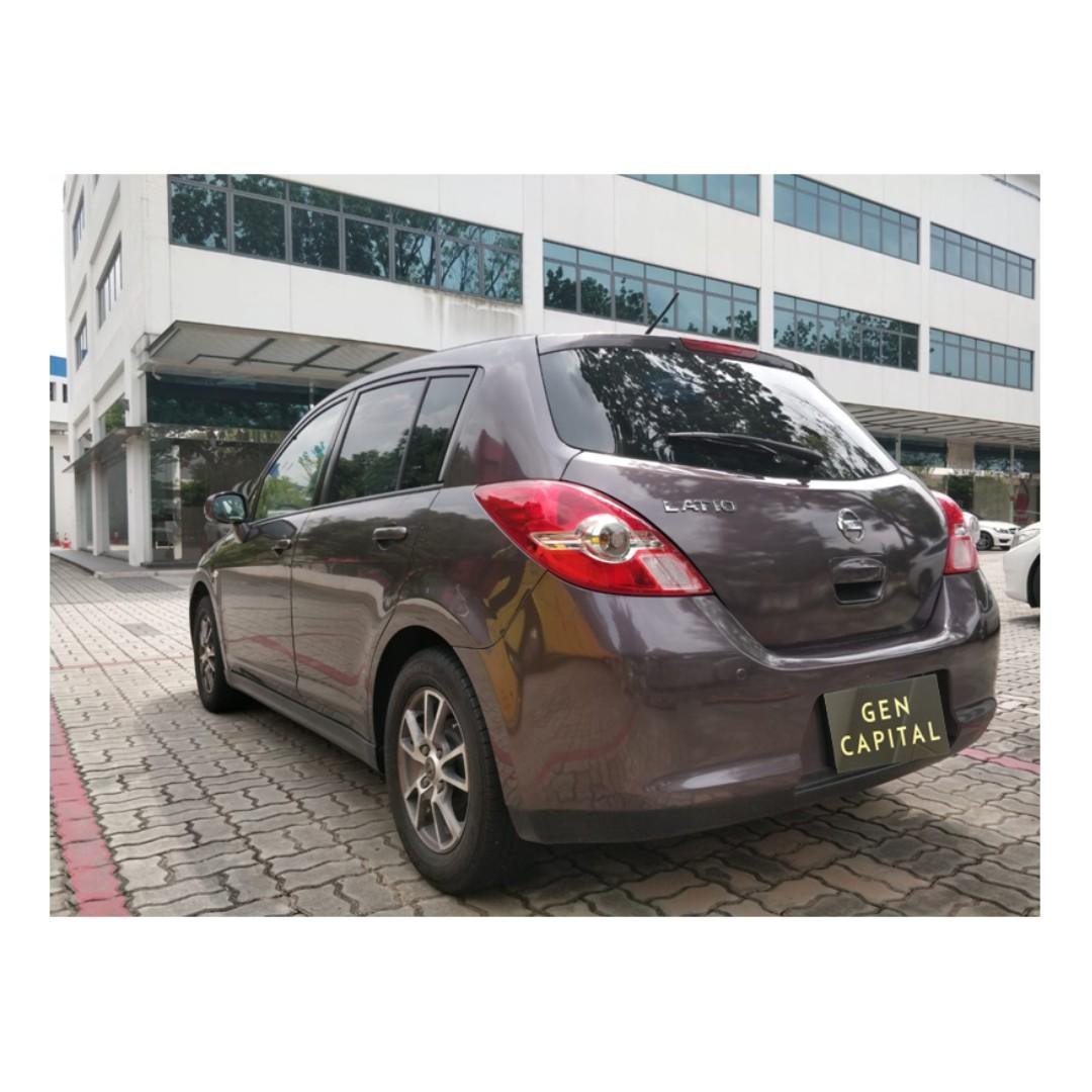 Nissan latio Hatchback - Cheapest rates, full support! Anytime ! Any day! Your Decision!!