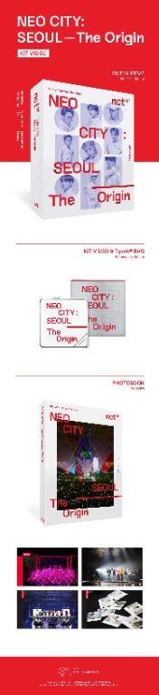 [PER-ORDER] NCT 127 - NEO CITY : SEOUL – The Origin KiT Video