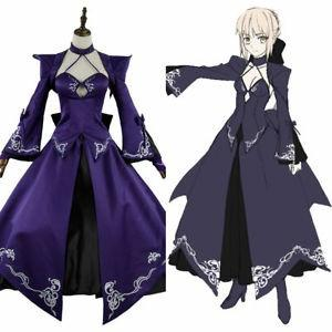 RENT/SALE Fate Stay Night Saber Altria Pendragon Grand Order Stage 3 Dress Ver Cosplay Costume