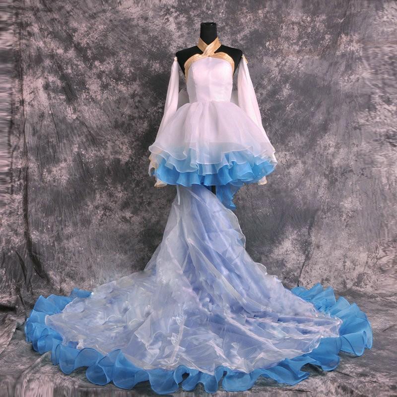 RENT/SALE Vocaloid Miku Demon's Wedding Premium Cosplay Costume