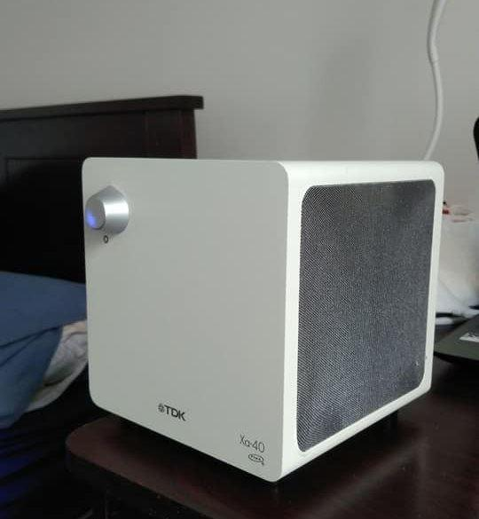 Speakers - TDK Tremor Xa-40 Cubic 2.1ch Acoustic Sound Sytem