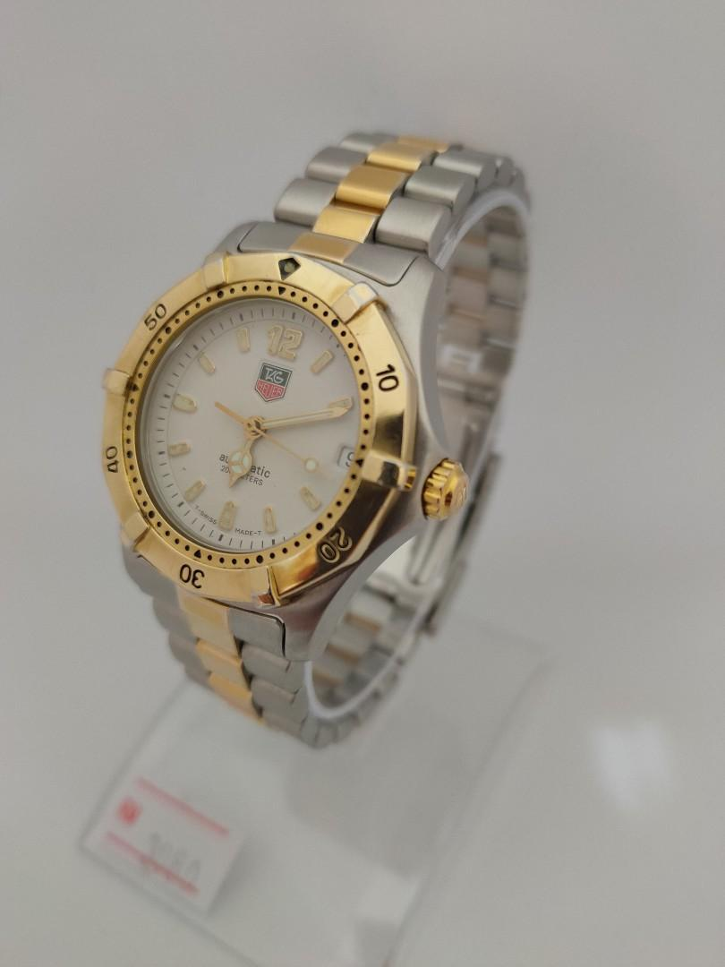 Tag Heuer 2000 Series Automatic Two-Tone 35mm Unisex WK2220-BB0315 Classic Collection (Discontinued Model)