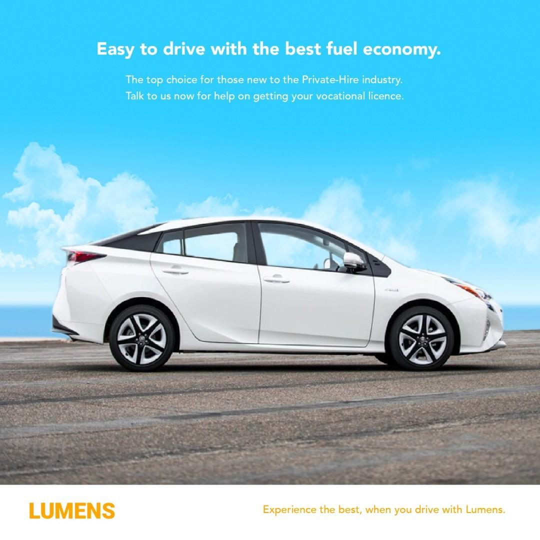 The Most Loved Toyota Prius S for Renting!