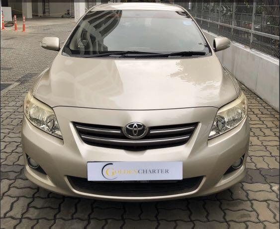 Toyota Altis For Rent! Gojek rebate or personal rent available