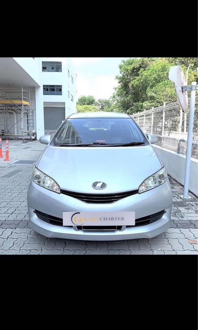 Toyota Wish For Rental, weekly gojek rebate or personal use available