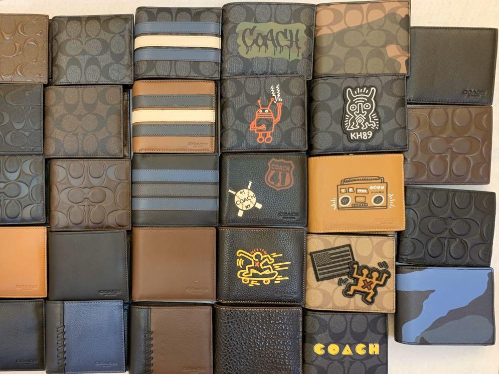 (12/12/19)Ready Stock Authentic coach men belt wallet purse backpack clutch permanent listing 121219men collection
