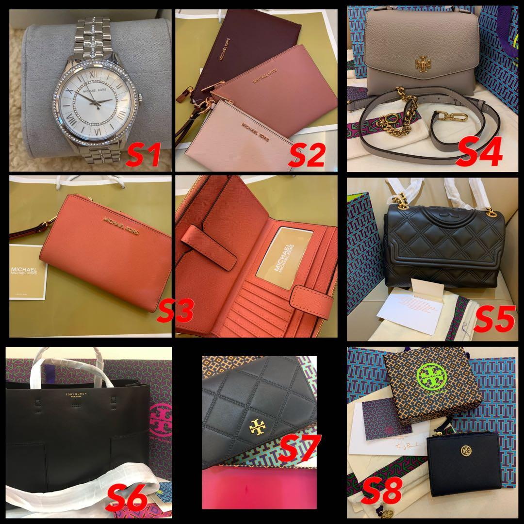(12/12/19)Ready Stock Authentic Tory Burch women wristlet wallet purse coach  handbag permanent listing December 1
