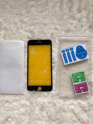 Iphone6s 玻璃保護貼 黑色 6D