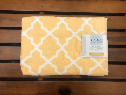 美國🇺🇸 百貨公司專櫃 格子浴巾 加大加厚款