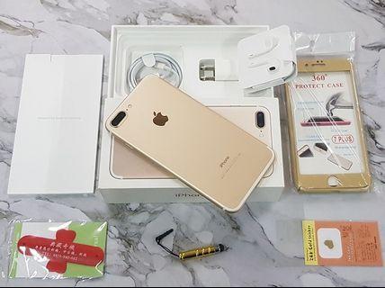 *典藏奇機*優質美機-128G高容量-APPLE iphone7 PLUS 4GLTE 頂級手機 金