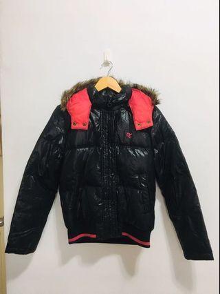 BIG TRAIN厚款極保暖女羽絨外套(M號)