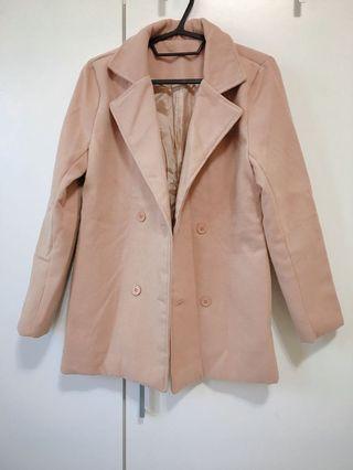 厚毛呢大衣外套