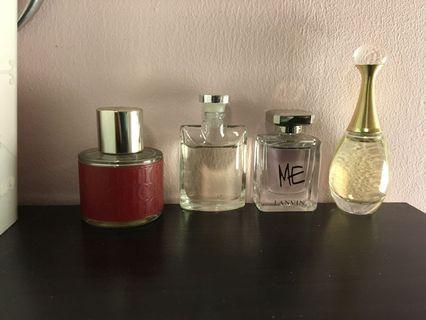 多款品牌香水