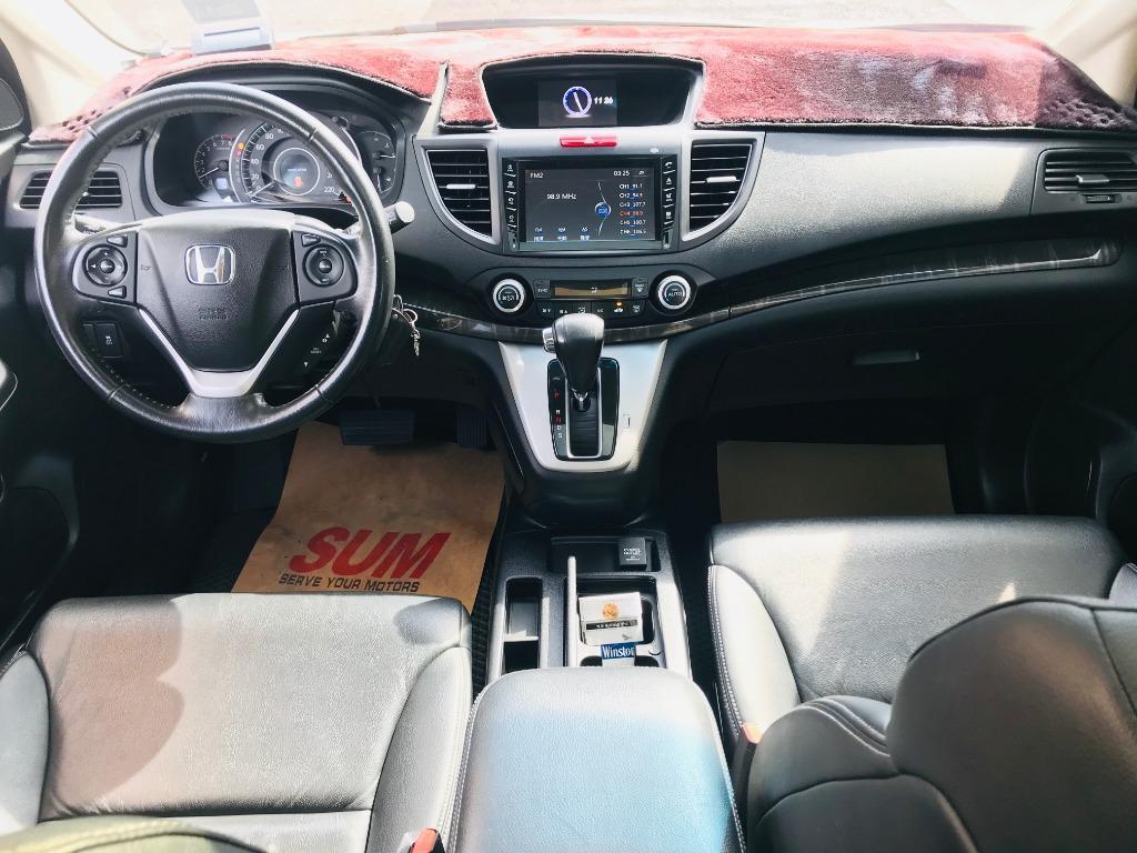 2014 Honda CR-V 2.4  一手車全車原版件通過第三方認證💯