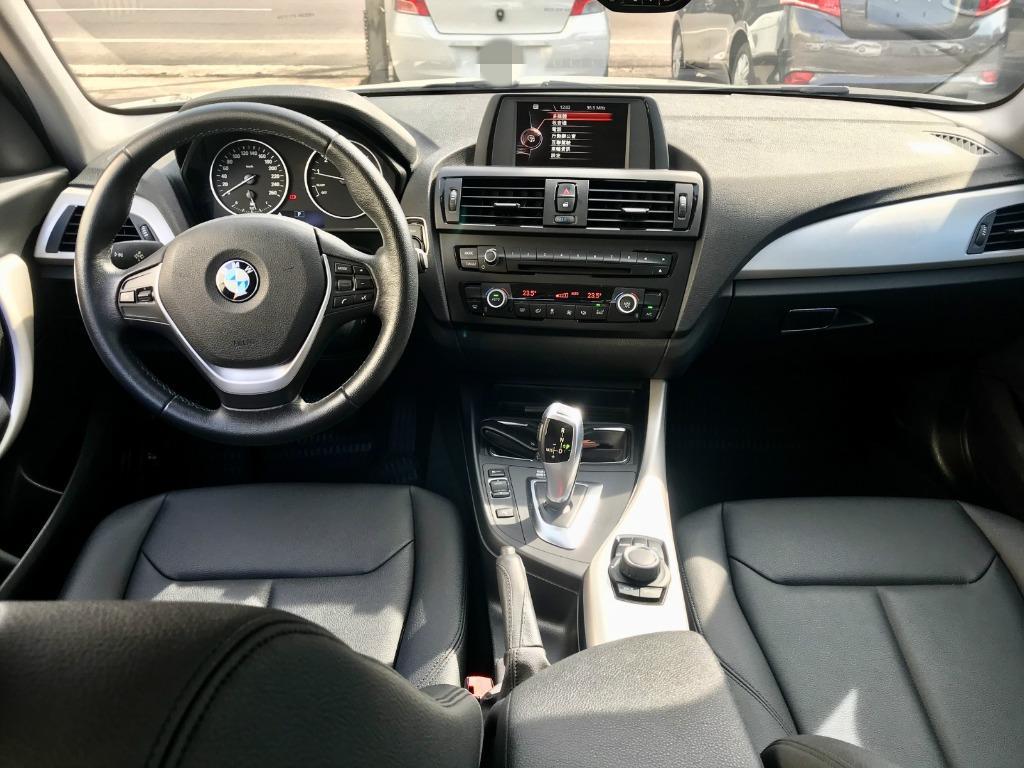 2015 BMW F20 116i  白帥帥一手車|後驅無限操控樂趣 😎